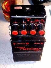 Boss MZ-2 Stereo DIGITAL METALLIZER JAPAN Distorsore D. Gilmour '80Style Vintage