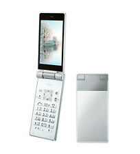 SHARP 501SH 504SH AQUOS KEITAI ANDROID FLIP PHONE WHITE UNLOCKED NEW SH-06G