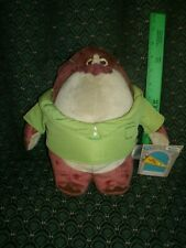 "Disney Store Exclusive ~ Monster's University ~ Plush ~CARLTON ~ New ~11"" ~ tags"