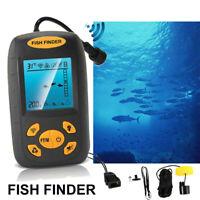 Transducer Portable Alarm Sonar Sensor 328fts Finder Fish Echo Depth Fishfinder