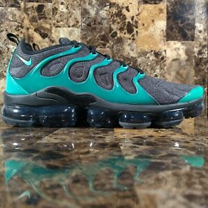 Nike Air Vapormax Plus Mens Size 10 Shoes 924453 013 Emerald Black Green New