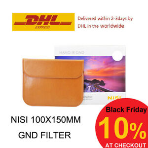 Nisi 100x150mm Reverse Filter Nano IR Graduated Neutral Density – GND8 / GND16