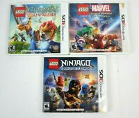 LEGO Ninjago: Shadow of Ronin Nintendo 3DS Chima Laval's Marvel Super Heroes