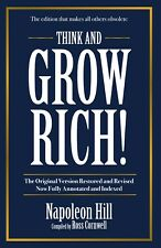 NEW: Think And Grow Rich By Napolean Hill Compiled by Ross Cornwell (Paperback)