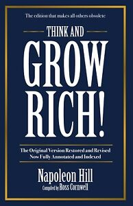 NEW: Think And Grow Rich By Napoleon Hill Compiled by Ross Cornwell (Paperback)