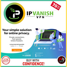 Premuim IPVanish VPN 💥All Devices📲4Years Warranty AUTO RENEWAL Quik Delivery💥