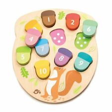 How Many Acorns Educational Toddler Toy Counting Numbers by Tender Leaf Toys New