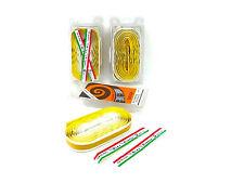 Ambrosio handlebar tape yellow white vintage Bicycle Touring NOS 3 packs
