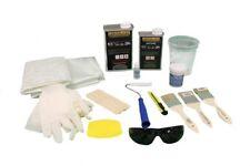 Fiberglass and Resin Repair Kit - 1 Quart Resin & 2 yards of Fiberglass plus...