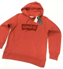 Levi's Women's Classic Size: S Pullover Hoodie With Graphic Logo In Red