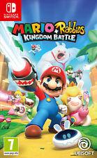 Mario + Rabbids Kingdom Battle Nintendo SWITCH IT IMPORT UBISOFT