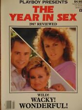 Playboy presents The Year in Sex 1987 Reviewed Premier ed. | Jessica Hanh #1369+