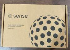 Sense Ceiling Condenser Microphone White SE-300-CM-W New Open Box
