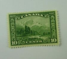 1928 Canada SC #155  KING GEORGE V  MH F-VF  Ten cent stamp
