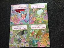 4 x Shirley Barber illustrated BOARD BOOK Vintage Unicorn, Pixie, Water Fairy GG