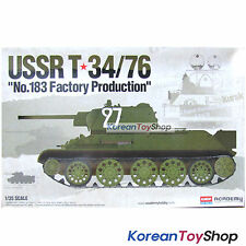 Academy 13505 1/35 Plastic Model kit Russian T-34/76 No.183 Factory Production