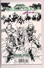Fear Itself #1 Sketch Variant Cover Signed by Laura Martin W/COA