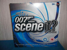 SCENE IT? - 007 - OFFICIAL DVD BOND MOVIE TRIVIA BOARD GAME - NEW & SEALED
