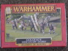 "WARHAMMER DOGS OF WAR,REGIMENT OF RENOWN,  ""GOLGFAG's MERCENARY OGRES"""