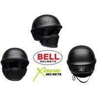 Bell Rogue Honor Helmet Titanium Muzzle Open Face Half Motorcycle DOT XS-2XL