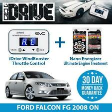 IDRIVE THROTTLE CONTROL - FORD FALCON FG 2008 ON + NANO ENERGIZER AIO