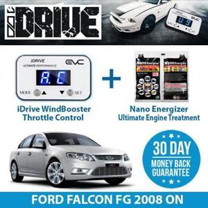 IDRIVE THROTTLE CONTROL FOR FORD FALCON FG 2008 ON + NANO ENERGIZER AIO