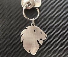 LION HEAD Big Cat King African Animal Wildlife Keyring Keychain Key Fob Gift