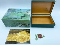 GENUINE ROLEX watch box case 68.00.08 booklet 022718 submariner GMT explorer