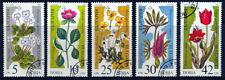 BULGARIA 1989: PIANTE 5 VALORI USATI