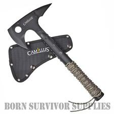 Camillus SIN TOMAHAWK & SHEATH Tactical Army Survival Bushcraft Hatchet Tool Axe