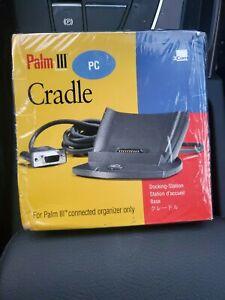 3com Palm Pilot III PDA OEM Serial HotSync Cradle Docking Station Ion Package