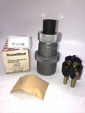 Russell Amp Stoll 3760 Pin Sleeve 20a600v 30a250v Pin Amp Sleeve Plug New