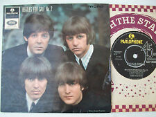 Beatles For Sale No.2 Mono Parlophone GEP 8938 Baby's In Black Words Of Love UK