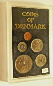 1976 Denmark 5 Coin Proof Set In Case      BCS/12