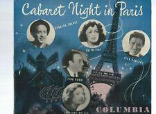 CABARET NIGHT IN PARIS  - COLUMBIA LONG PLAYING 33 1/3 RECORD