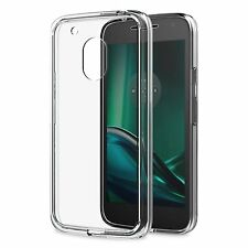 Thin Slim Soft Gel Transparent Clear Case Cover For Motorola Moto G4 Play 5.0""