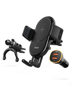 Anker ROAV - PowerWave Vehicle 10W Qi Certified Wireless Charging Pad for iPhone