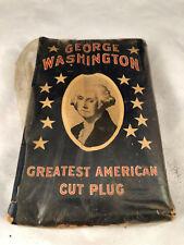 VINTAGE GEORGE WASHINGTON SMOKING TOBACCO R.J. REYNOLDS SOFT PACKAGE