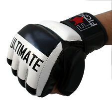 Ultimate MMA FREEFIGHT Handschuhe  Leder  Sandsackhandschuhe Grappling