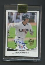 2017 Topps Archives Signature 2011 USA Tyler Naquin RC AUTO /94