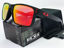 Sunglasses Polarized Holbrook Matte Black/Ruby Iridium
