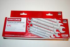 Craftsman 9 Piece Metric 12 pt. Combination Wrench Set 6,8-15 mm