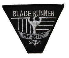 BLADE RUNNER Rep Dect Logo Uniform Embroidered PATCH