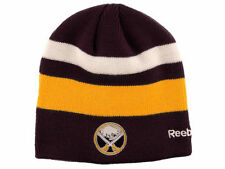 BUFFALO SABRES RBK CENTER ICE  NHL PLAYER STRIPED KNIT BEANIE