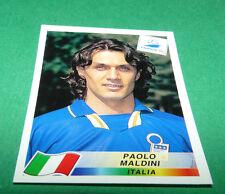 N°92 PAOLO MALDINI ITALIE ITALIA PANINI FOOTBALL FRANCE 98 1998 COUPE MONDE WM