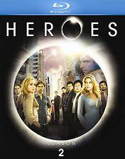 Heroes - Season 2 (Blu-ray Disc, 2008, 4-Disc Set)