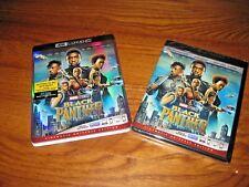 Black Panther: Chadwick Boseman]  4K Ultra HD Blu-ray/ Blu-ray+ Digital Copy NEW