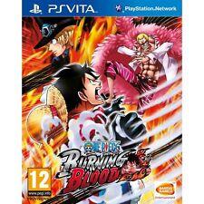 One Piece: Burning Blood [Sony PlayStation Vita PSV, Region Free, Fighting] NEW