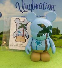 "Disney Vinylmation 3"" Park Set 3 Urban Palm Tree Beach with Card"