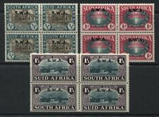 South West Africa 1939 Semi-Postal set in pairs mint o.g.